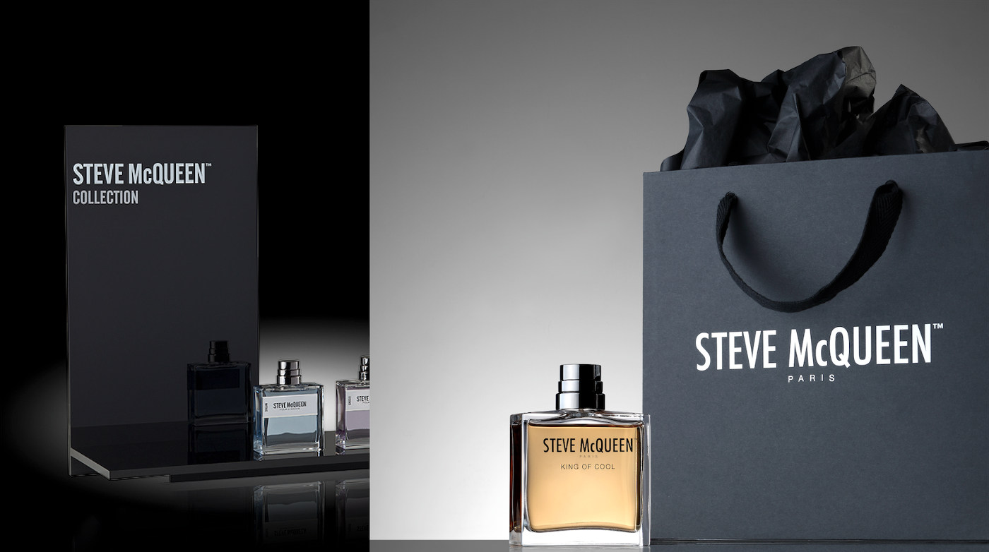 packaging parfum steeve mcqueen
